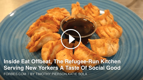 Inside Eat Offbeat, The Refugee-Run Kitchen That's Satisfying Adventurous Eaters With A Taste For Social Good